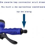 sproeikop met tap connector