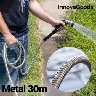 innovagoods onbreekbare-metalen tuinslang 30 m